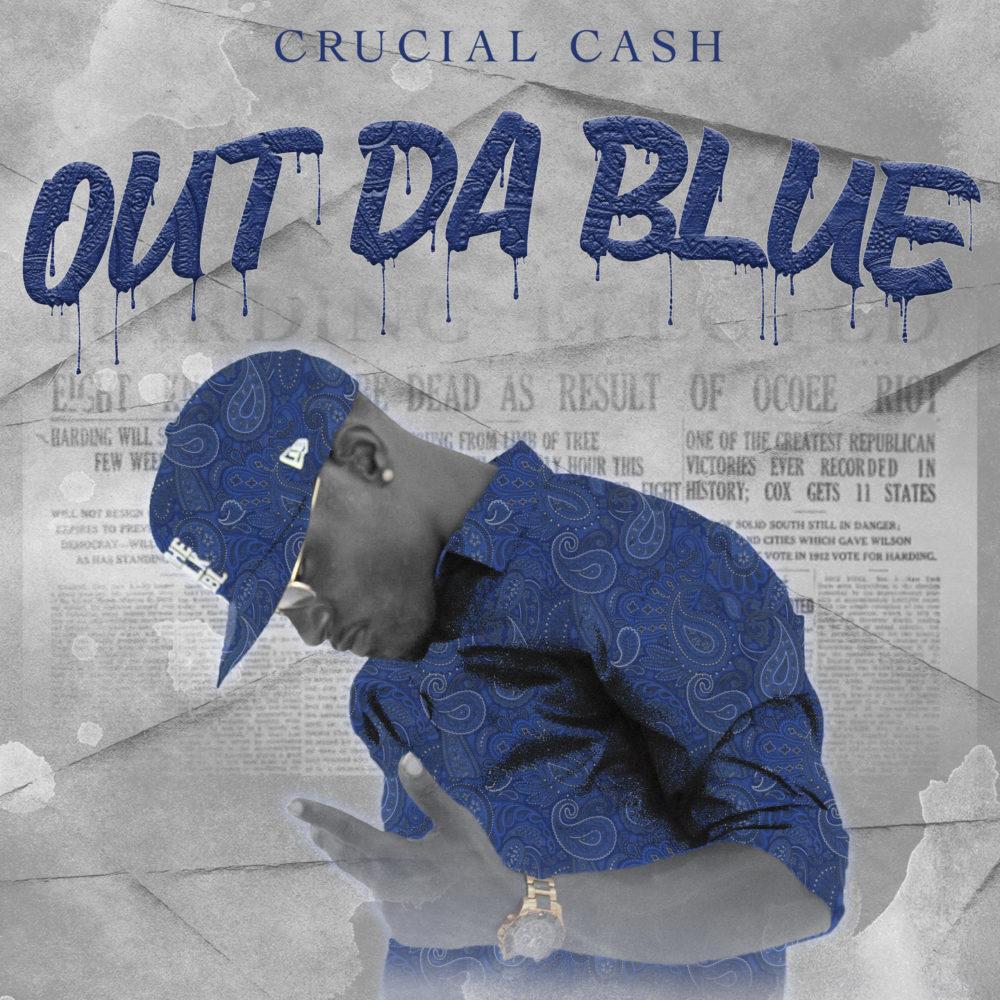 Crucial Cash Out Da Blue Cover Art